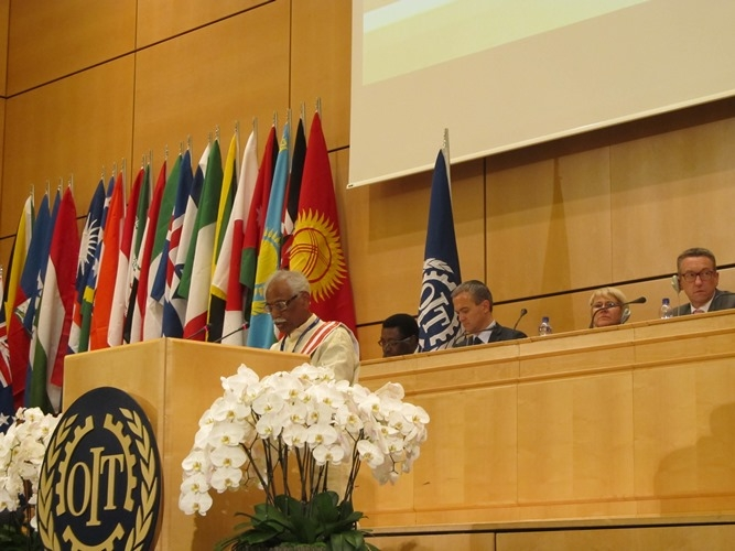 MOS(IC)L&E in ILO, Geneva at 104th Session of ILC