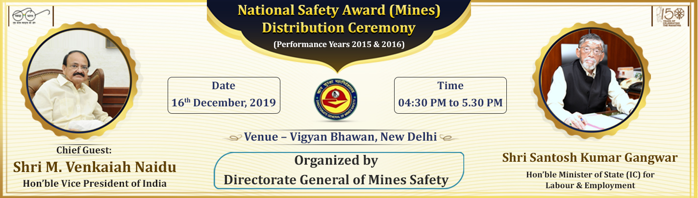 National Safety Award (Mines) Distribution Ceremony