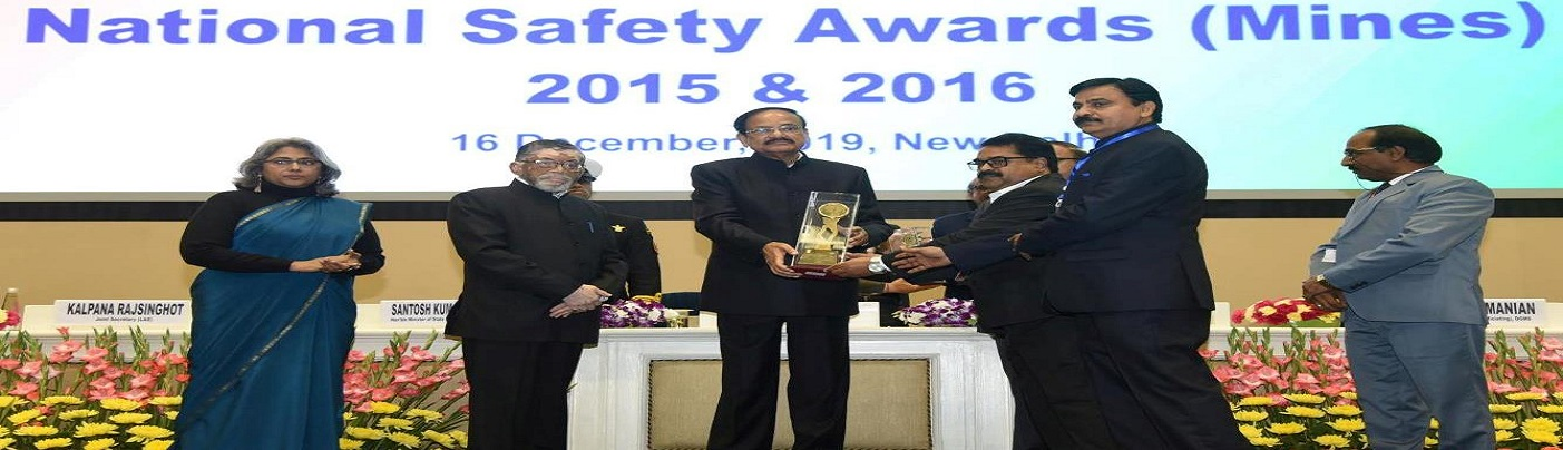 National Safety Awards (Mines)